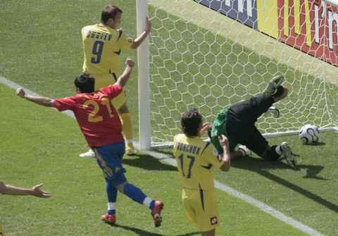 ESPAÑA 4-0 UCRANIA ( y los españoles)